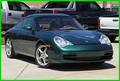 2002 Porsche 911 CARRERA 2 MANUAL RARE COLOR LOW MILES!! 2002 PORSCHE CARRERA 2 MANUAL RARE COLOR FULLY LOADED CARFAX FLORIDA NO RESERVE!