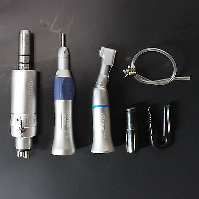 Dental Slow Low Speed Contra Angle Handpiece E-type Air Mortor 4Hole Set
