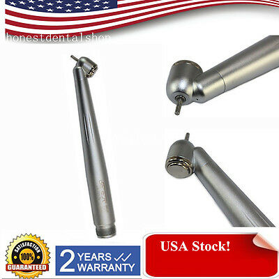 NSK type 45°Dental Surgical High Speed Handpiece Push Button turbine Fit 2Hole