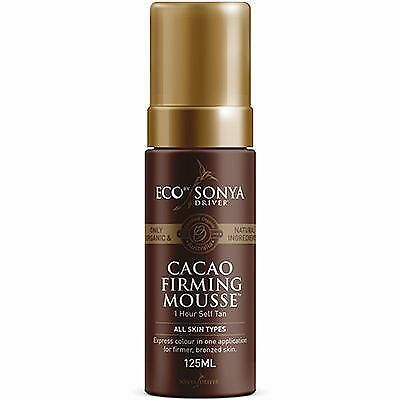 ECO BY SONYA Mousse Autobronzante Raffermissante au Cacao 125ml