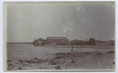 C1910 Rp Npu Postcard Old Goolwa Wharf From The Foundry Jetty Goolwa Local  M25