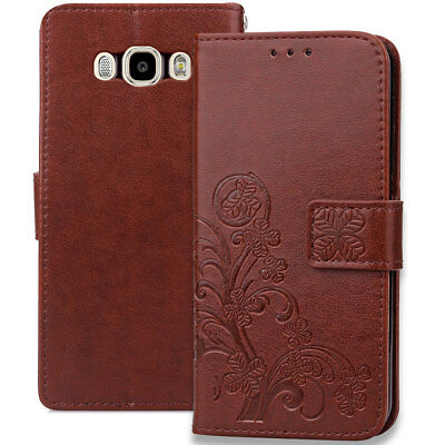 Luxury Magnetic Flip Leather Wallet Card Case Cover For Samsung Galaxy J7 J700