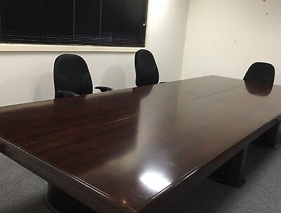 Stunning Corporate Boardroom Table