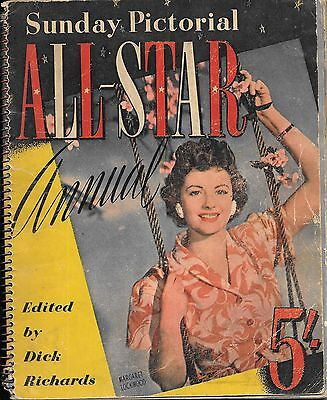 ALL-STAR ANNUAL - SUNDAY PICTORIAL  1950 EDITED  by DICK RICHARDS