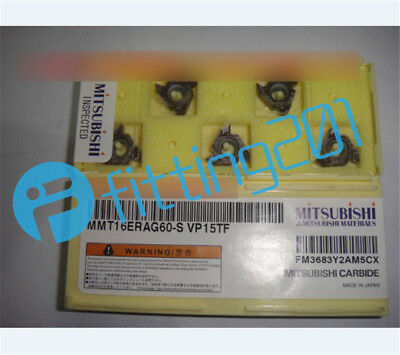 New MITSUBISHI MMT16ER140W-S VP15TF Carbide Insert 5PCS//Box