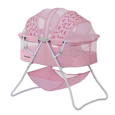 Karley Baby Bassinet, Nursery Furniture, Babies Girl Infants, Newborns, Pink Bed