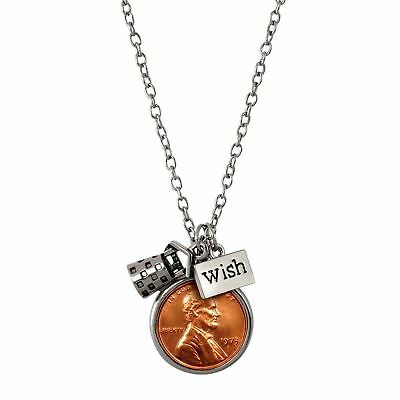 NEW American Coin Treasures Year to Remember Penny Wish Coin Necklace 1987