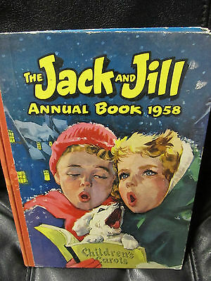 1958 Jack and Jill Annual, London 80 pages mostly comics from that period