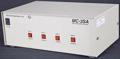 National Aperture MC-3SA Servo Amplifier System 4-Axis Motion Controller Module