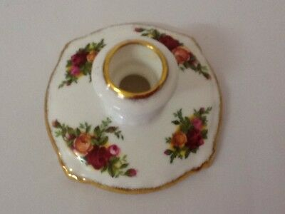 Royal Albert Old Country Roses Candleholder / Made In England / Mint Condition