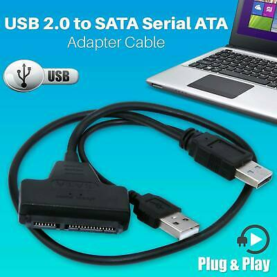 2.5″External USB To SATA Converter Lead Cable Adapter SSD HDD Hard Disk Drive UK
