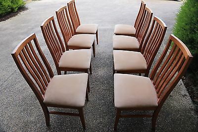 Dining chairs - set of 8