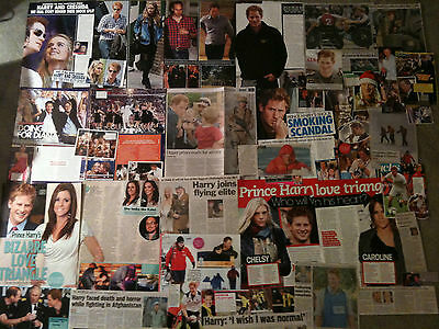 PRINCE HARRY - Over 30 clippings