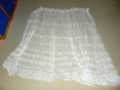 Lace curtains  x 2