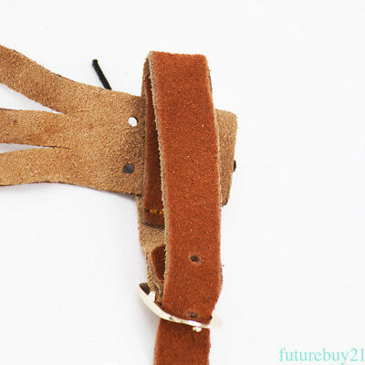 Archery 3 Finger Guard Hand Protective Gloves Arrow Shooting Gear Leather Hunter