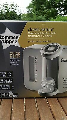 Tommee tippee perfect prep -white, in box