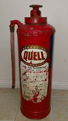 1963 Quell collectable fire extinguisher