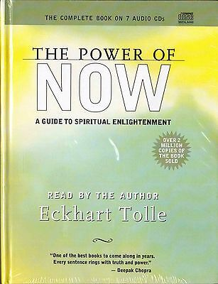 The Power of Now: A Guide to Spiritual Enlightenment: Audiobook, Audio CD NEW