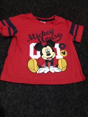 Disney Mickey Mouse toddler shirt size 1