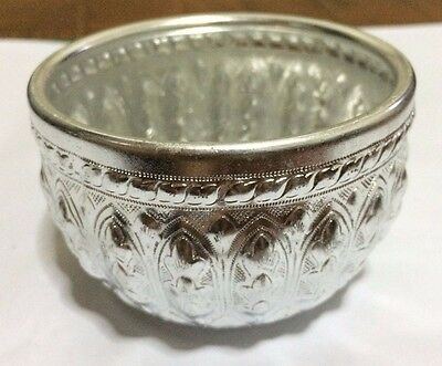 Thailand Solid Silver Bowl,Put things on .