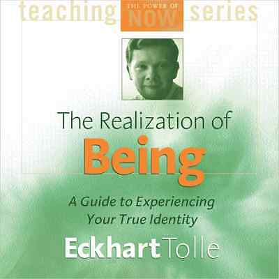 The Realization of Being (2 CD) by Eckhart Tolle Brand NEW