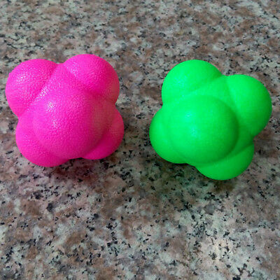 Reaction Balls Size Fast Speed Agility Coordination Training Random Color
