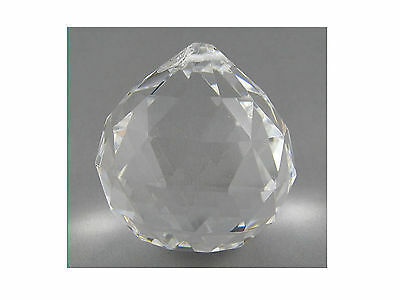 CRYSTAL SPHERE BALL - Size 30mm For Suncatchers, Crafts Etc. - Hanging Type
