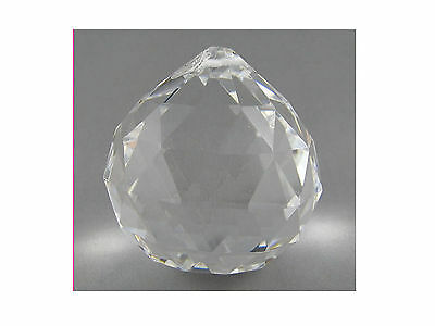 30mm CRYSTAL BALL SPHERE For Suncatchers, Crafts Etc. - Hanging Type