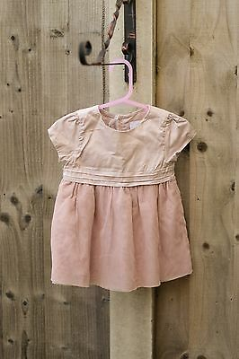 The little white company Girls dress. Size: 3-6 months