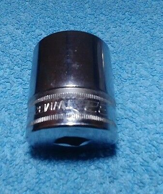 Snap-On Socket, Metric, Shallow, 32 mm, 6-Point, TWM32