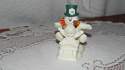 """Dept 56 Fun With Frosty the Snowman"""" Snowbabies OB"""