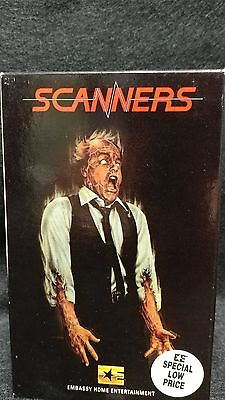 SCANNERS (1980) BetaTape !/David Cronenberg/Michael Ironside/GreatConditionRARE!