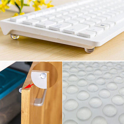 50Pcs Silicone Self Adhesive Clear Bumpers Door Buffer Crash Pad For Cupboard