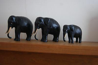 Ebony Elephants