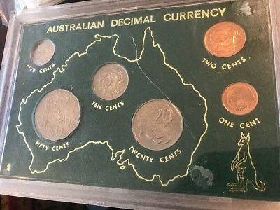 1972 Australian Decimal Currency In Uncirculated Condition