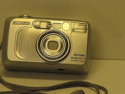 Samsung Maxima Zoom 105Ti Auto Focus 35mm Camera