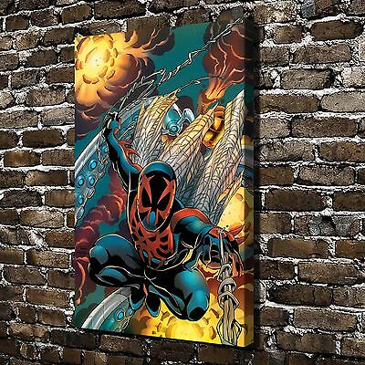 Marvel Comics Spider-Man Painting HD Print on Canvas Home Decor Wall Art Picture