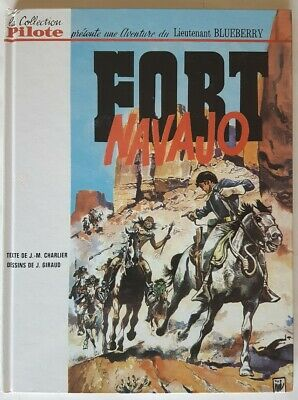 Facsimilé Collection Pilote 1965 Jean Giraud Charlier Blueberry N° 1 Fort Navajo
