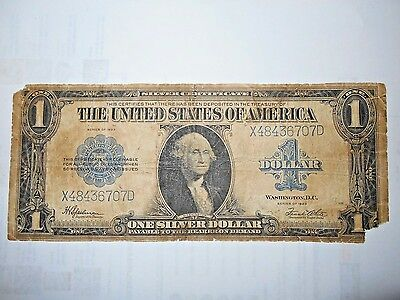 1923 $ 1 Dollar Large Note