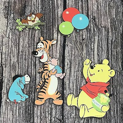 Disney Winnie the Pooh Wall Decor Set Balloons Wall Decor Set Nursery Toddler