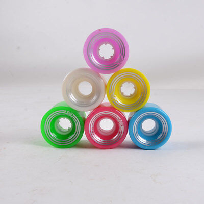 60X45 Cruiser Skateboard PU Wheel For Street Longboard Banana Board Fits