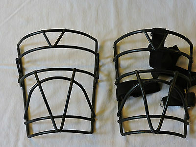 Two Vintage Wilson Umpire Masks/ Steampunk Wall Decor