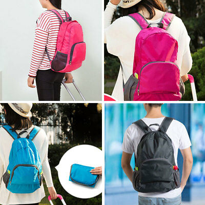 Unisex Outdoor Sports Waterproof Foldable Backpack Hiking Colors Bag Camping &