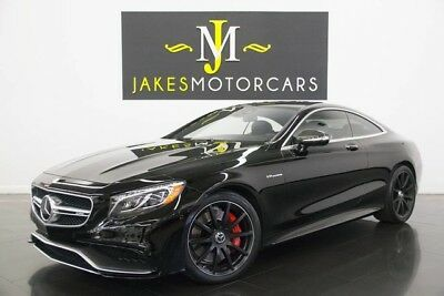 2015 Mercedes-Benz S-Class S63 AMG Coupe ($180K MSRP) 2015 MERCEDES S63 AMG COUPE! $180K MSRP! BLACK/BLACK, CARBON FIBER EXTERIOR PKG!