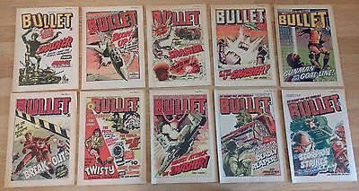 Bullet comics bundle #90, #91, #92, #93, #94, #95, #96, #97, #98, #99
