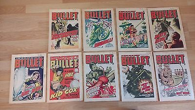 Bullet comics bundle #81, #82, #83, #84, #85, #86, #87, #88, #89