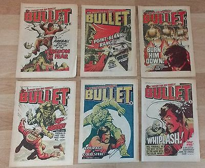 Bullet comics bundle #53, #55, #56, #57, #58, #59