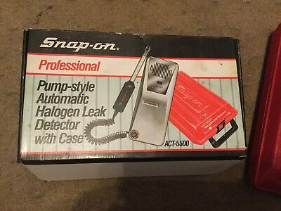 Snap On ACT 5500 Halogen Leak Detector, NEW IN BOX