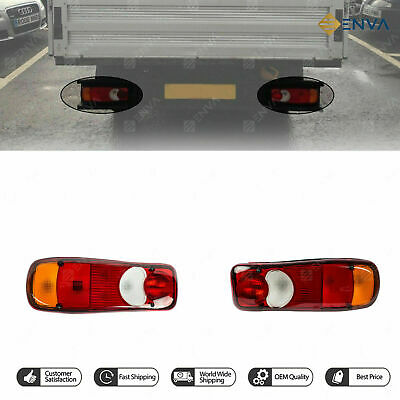 Brand New Nissan Cabstar Pair of Rear Tail Light Lamp R&L-Side 1401731, AELB993