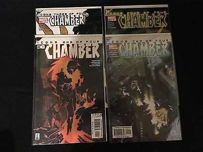 Marvel - Icons Chamber #1-4 - Complete Set Run - X-Men - NM